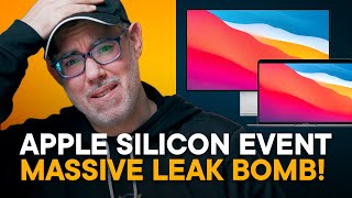 Apple Silicon November Event — Reacting to Massive Leak Bomb!