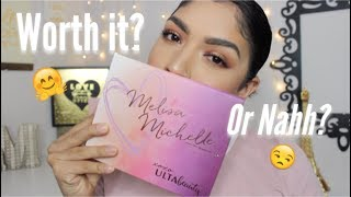 Baixar Worth It Or Nah? LoveMelisaMichelle X Ulta Palette! Review + Swatches //2017