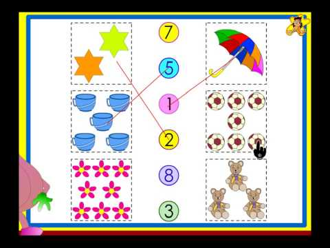 Counting Worksheets For Kids  - Practise Counting Up To 10