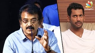 Producer KR to Vishal: Don'T Play THEERATHA VILAYATTU PILLAI Here | Council Election
