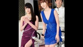 AKB48の柏木由紀(23)と入山杏奈(18)が、つかみ合い&平手...