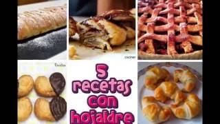 5 recetas con hojaldre