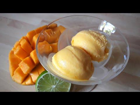 Yaourt glacé à la mangue en moins de 5 min et sans sorbetière #219