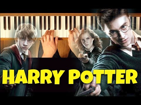 Fawkes the Phoenix (Harry Potter) [Intermediate Piano Tutorial]