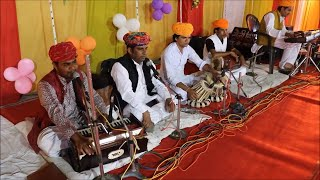 wellcome song II kesriya balam II TRADITIONAL RAJASTHANI FOLK SONG II BIBA FOLK GROUP II BIBU KHNAN