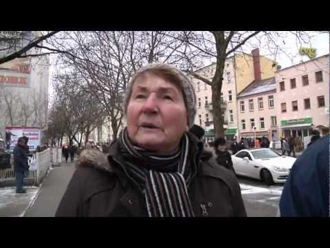 DeutschSprachige Interviews & TV Shots von Rosa Luxemburg & Karl Liebknecht Demo 2013 Berlin