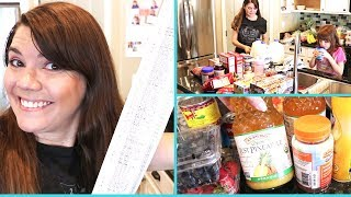 ONLINE GROCERY HAUL // SHOP WITH ME CLICK LIST // STAY AT HOME MOM