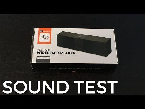 TaoTronics Portable Bluetooth Speaker TT-SK02 Review!