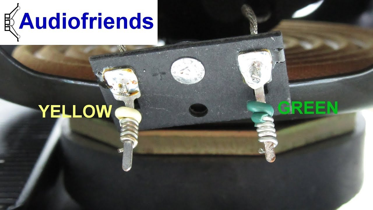 Bose 301/501/601/901 - How to handle wire wrap demount + mount ...