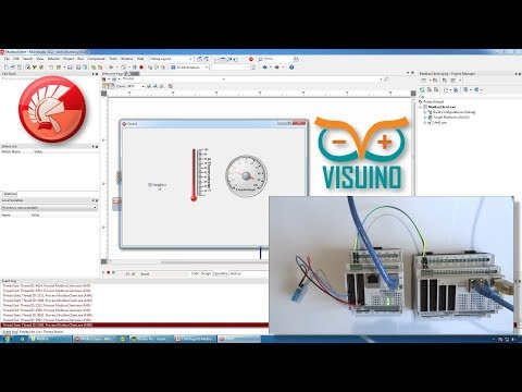 SCADA Modbus Industrial Control Applications, and PLCs with Delphi, Visuino Pro, and OpenWire Studio