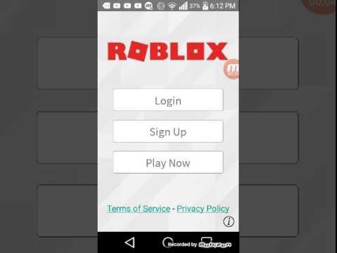 Roblox Login Sign