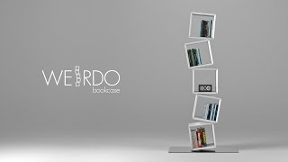 Weirdo Bookcase - Design Vincenzo Candido