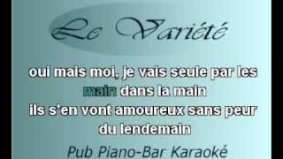 karaoke-francise Hardy-Tous les garcons