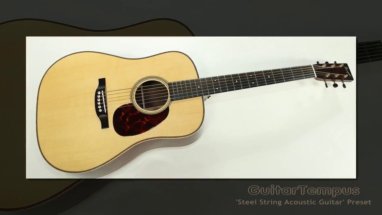Evolution acoustic guitar steel strings download free