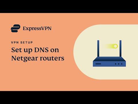 How to Set Up DNS on a Netgear Router | ExpressVPN
