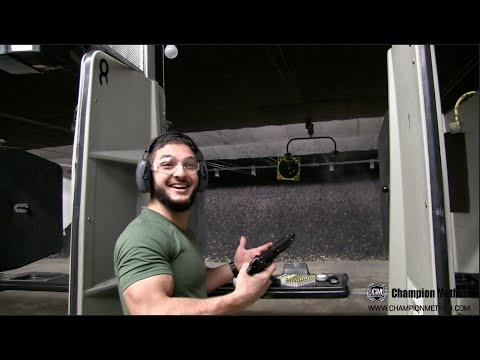 First time at a gun range