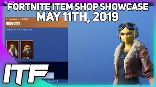 Fortnite Item Shop *NEW* VELOCITY SKIN! [May 11th, 2019] (Fortnite Battle Royale)