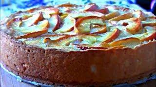 Цветаевский яблочный пирог / Мега яблочный пирог который просто тает во рту !