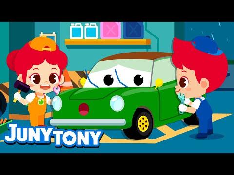 car-mechanic-|-occupation-song-for-kids-|-children's-job-experience-|-junytony
