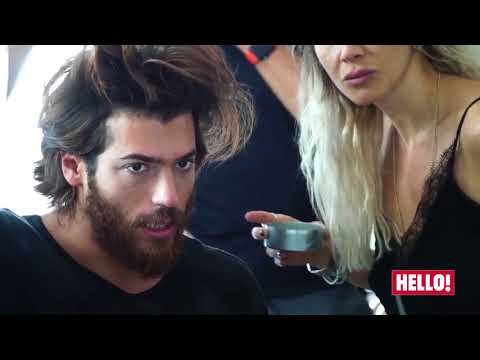 Can Yaman per Hello Dergisi- Backstage