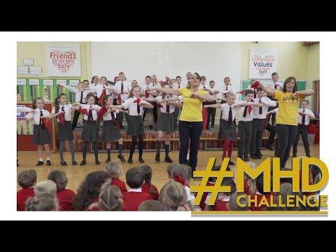 The #MHDChallenge visits St Andrew's CoE Primary School