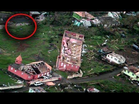 Hurricane Maria in Dominica, damage, landslides, floods, floodings, winds, mudslides, Roseau