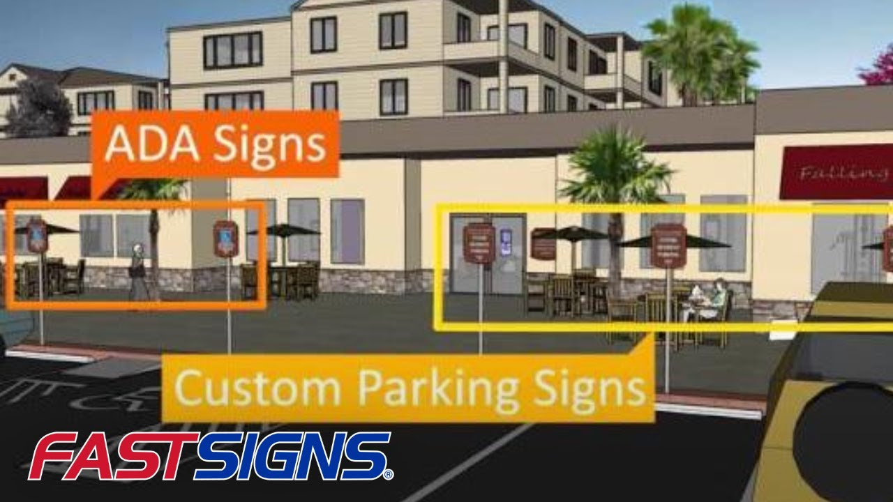 Apartment Complex Signs and Graphics - A Visual Tour | FASTSIGNS®