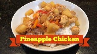 Vinnies Vittles Pineapple Chicken