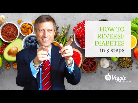 How to reverse diabetes in 3 steps - Neal Barnard, MD