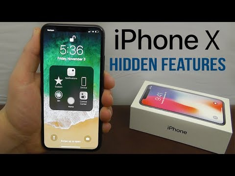 iPhone X Hidden Features - Top 10 List