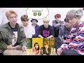 BTS REACTION TO GFRIEND EUNHA & TEEN TOP CHUNJI HOLD YOUR HAND MV
