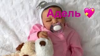 Обложка на видео - REBORN BABY DOLL FOR ADOPTION .