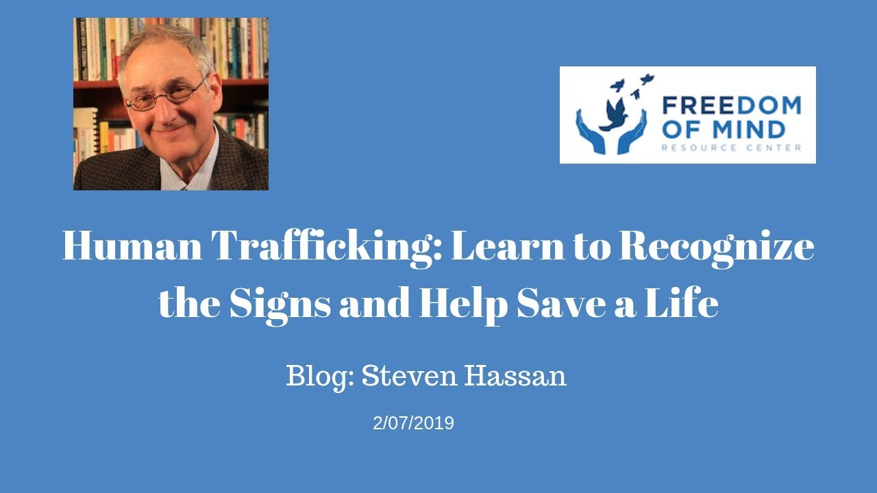Human Trafficking: Learn to Recognize the Signs and Help