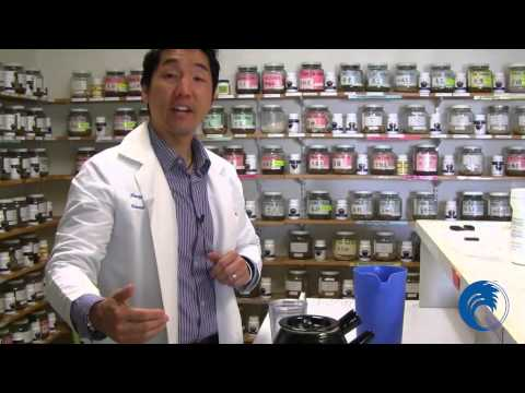 """How To Prepare Your Raw Herbs"" - Instructional Demo with Dr. Thomas Kouo"