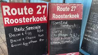 Route R27 Roosterkoek - West Coast Way Culture Route, Milnerton Cape Town
