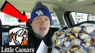 Reed Reviews Little Caesars Cinnamon Loaded Crazy Bites