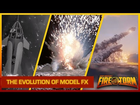 The Evolution of Model FX: Special Effects and Miniatures | Gerry Anderson's FIRESTORM