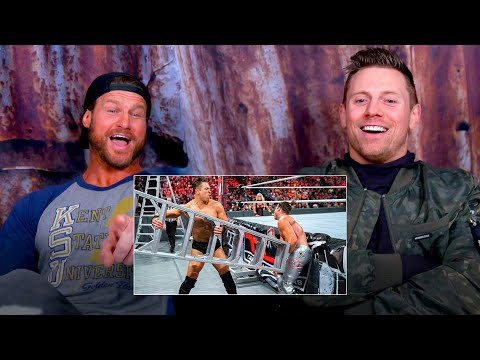 Miz and Dolph Ziggler watch their wild Ladder Match: WWE Playback