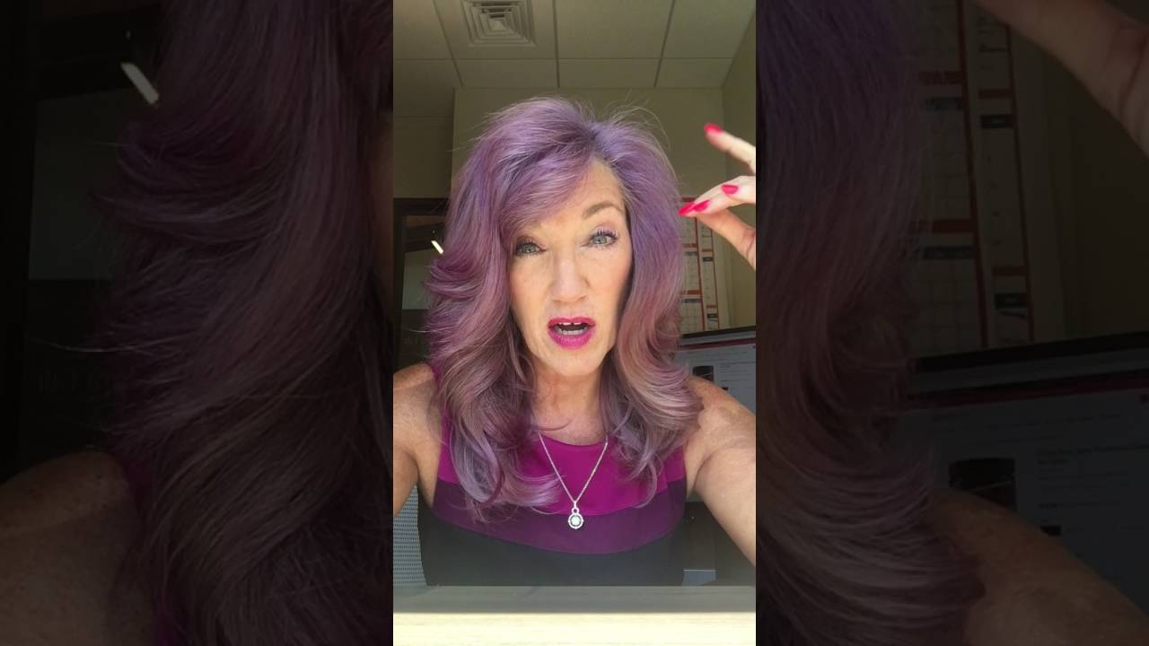 Purple Haze Manic Panic Dont Go Gray Go Color Youtube