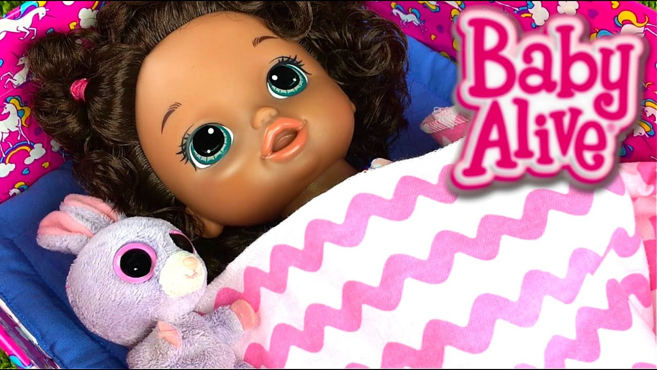 How To Make A Baby Alive Doll Bed Youtube