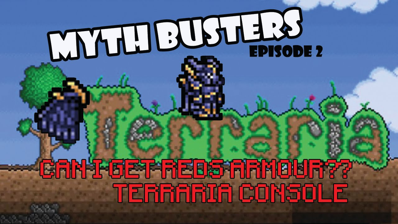 How to reds wear armor terraria