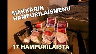 MÄKKÄRIN HAMPURILAISMENU HAASTE