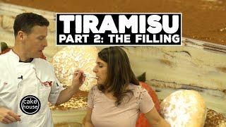 Classic Tiramisu Recipe Part 2/3 | Mascarpone Filling | Classic Desserts w. Cake Boss