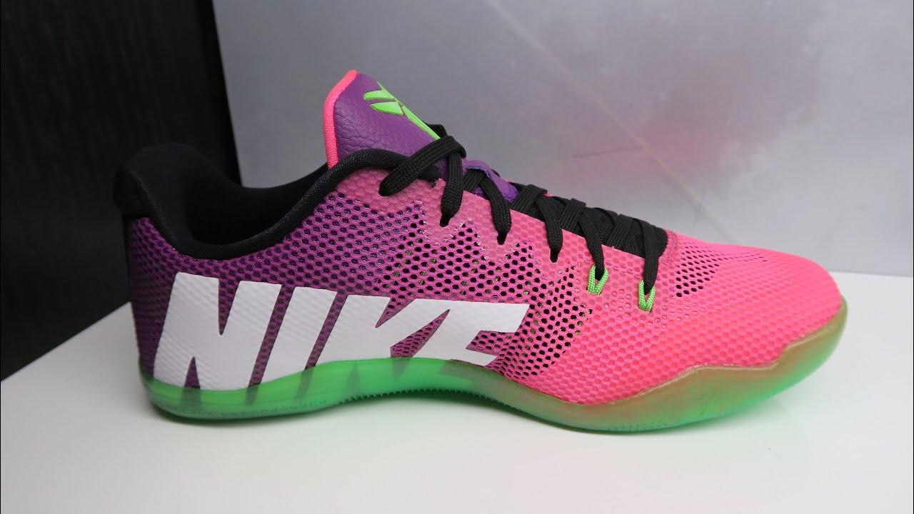 low priced c59db 81c62 Nike Kobe 11 Mambacurial EM Sneaker Detailed Look