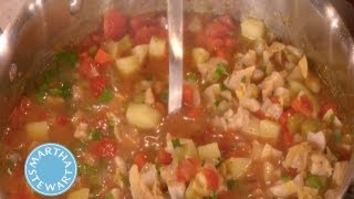 Manhattan Clam Chowder⎢Martha Stewart