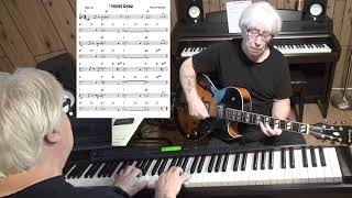 I Never Knew - Jazz guitar & piano cover ( Ted Fiorito & Gus Kahn )