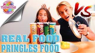 REAL FOOD vs. PRINGLES FOOD Chips - neue Sorten | Mileys Welt