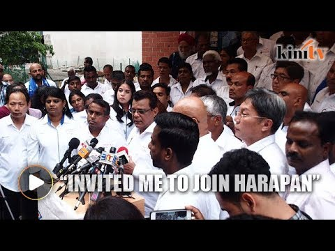Kayveas: Someone from Harapan asked me to leave BN