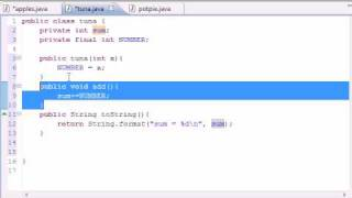 Java Programming Tutorial - 48 - final