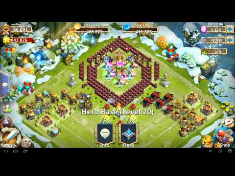 Castle Clash - Ice Breaker V3 - In Full Detail - TH 20